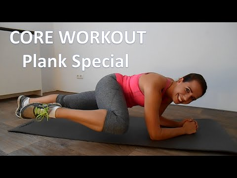 10 Minute Core Workout – Abs Workout Routine At Home – Plank Exercise Special