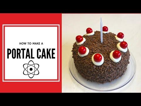 How to Make a Real Portal Cake