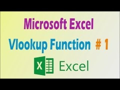 how to use excel vlookup in hindi 2018