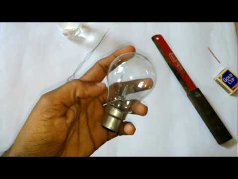 CHILDHOOD FAMOUS CHOTA ROCKET EXPERIMENT With Bulb and Matches