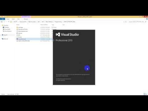 how to install visual studio 2013