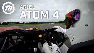 StigCam: Ariel Atom 4 Stig Lap... in the DRY | Top Gear