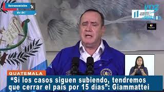 Alarma aumento casos Covid-19 en Guatemala