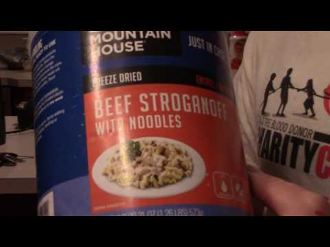 Repackaging Freeze Dried Hiking Meals To Save Money & Weight