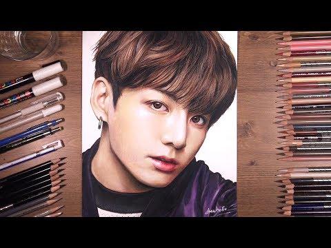 Drawing BTS: Jungkook 정국 | drawholic