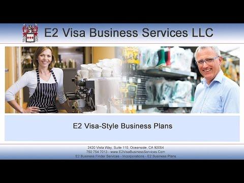 E2 Visa Business Services - Business Plans