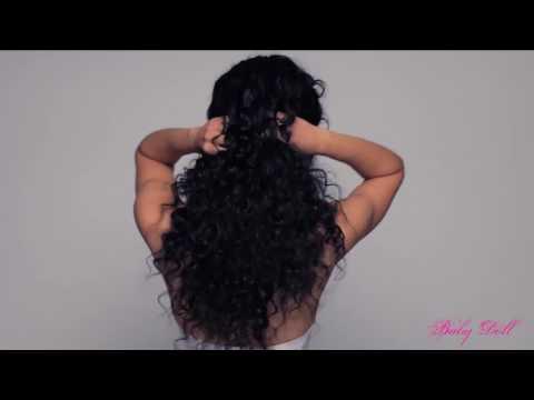 Brazilian Curly Weave Hair Bundles