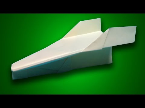 HOW TO MAKE PAPER AIRPLANE THAT FLIES 100 FEET!