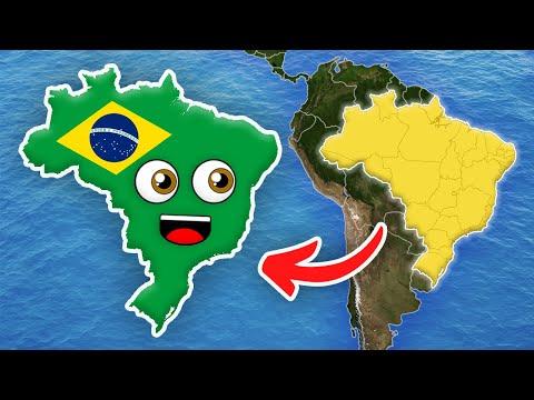 Brazil/Brazil Geografia/Brazil Geography for Kids