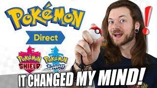That Pokémon Direct CHANGED MY MIND on Sword & Shield!