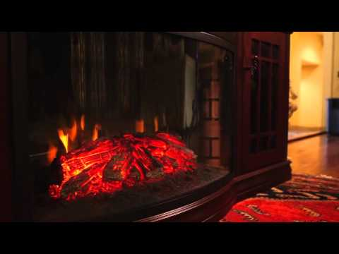 The Dwyer Electric Fireplace Entertainment Center