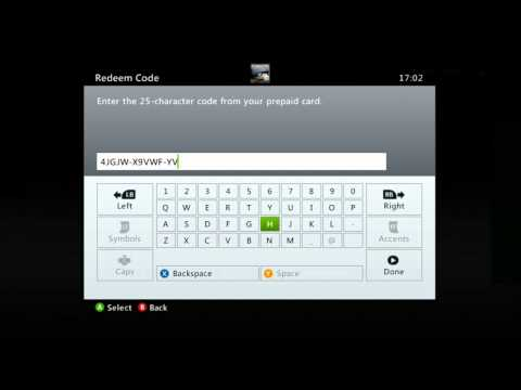 How To Reedem Your Xbox 360 Digital Game Code On Xbox Live