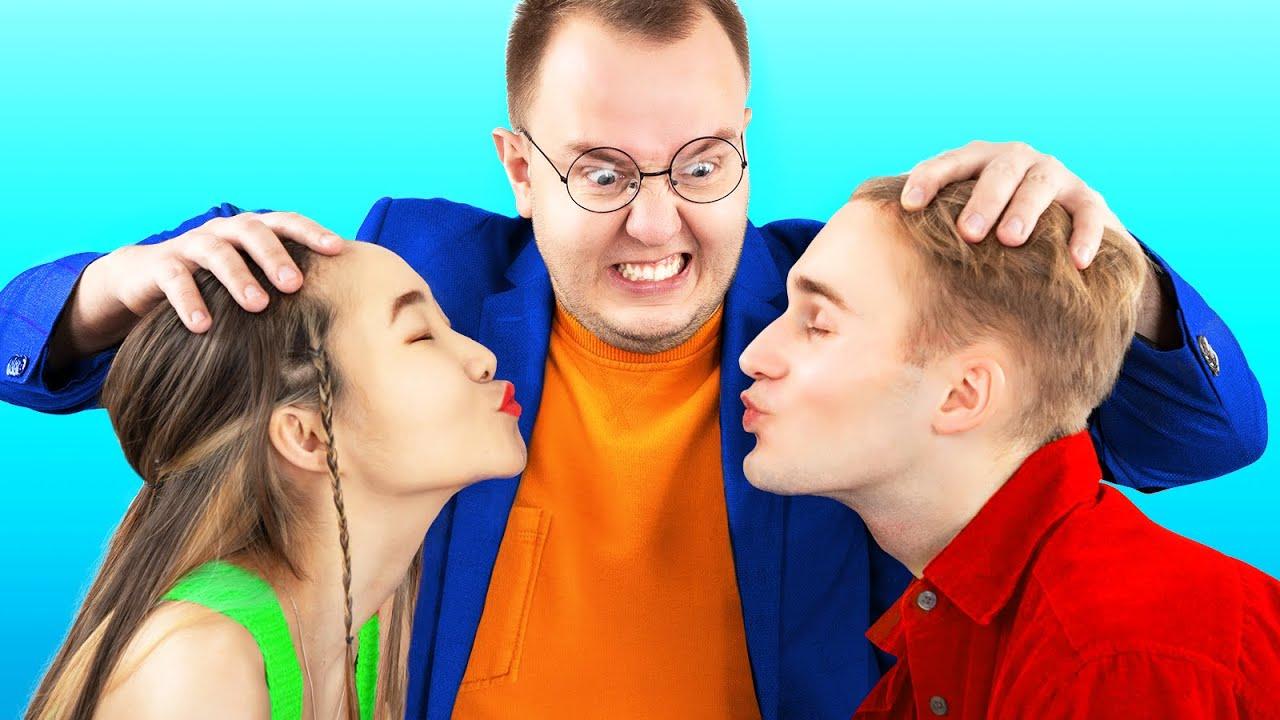 Dad vs Boyfriends! 12 Daddy Life Hacks and Pranks!