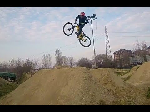 MTB Dirt Jump Session at TK Dirt&co Milano w Commencal Absolut GoPro
