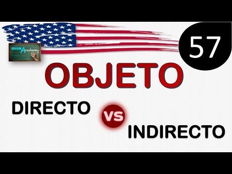 Curso de Ingles - LECCION 57 (Objeto directo y objeto indirecto) - DIRECT OBJECT VS INDIRECT OBJECT