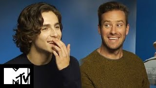 Call Me By Your Name | Armie Hammer And Timothée Chalamet Go Speed Dating! | MTV Movies