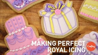 Making Perfect Royal Icing 3 Expert Tricks Cookie Decorating Tutorial