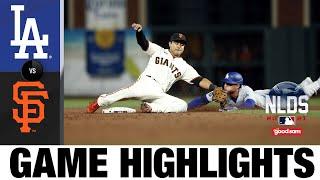 Dodgers vs. Giants NLDS Game 5 Highlights (10/14/21) | MLB Highlights