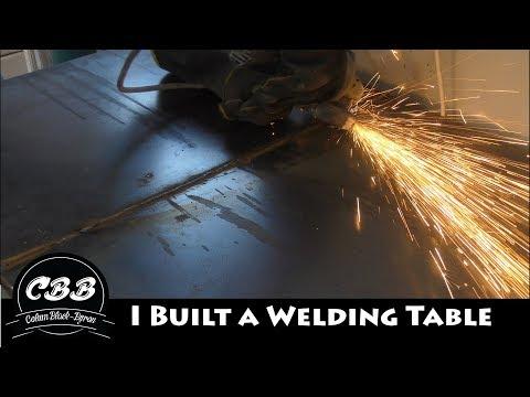 I Built a Welding Table