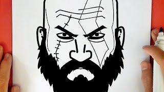 Desenhando Kratos E Atreus E Colorindo Com Lapis De Cor Fanart