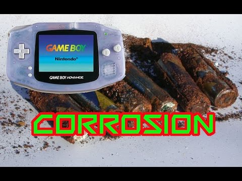 HOW TO REMOVE NINTENDO GAMEBOY CORROSION