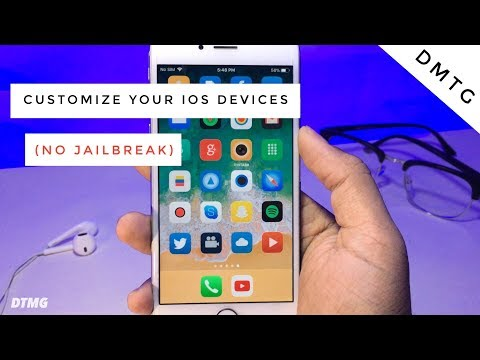 How To Customize  iOS devices without Jailbreaking