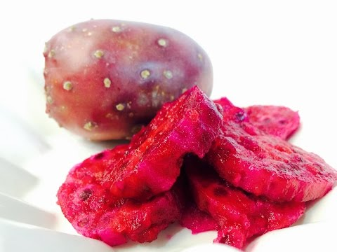 How to Eat Prickly Pear, or a Cactus Fruit, or Tunas