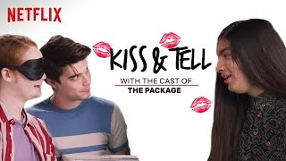 Cast of The Package Kisses An Eggplant & Other Weird Stuff | Kiss & Tell | Netflix