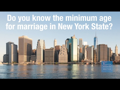 End Child Marriage in New York