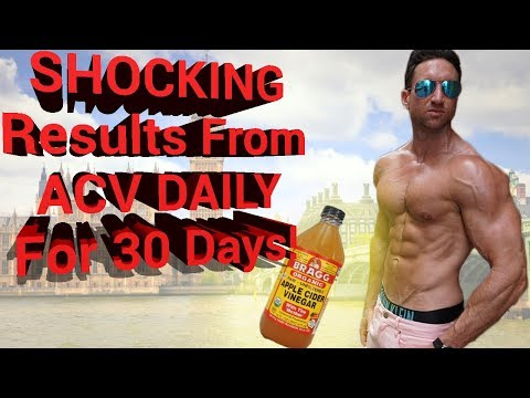 Results Of Drinking Apple Cider Vinegar DAILY For 30 Days for Weight Loss