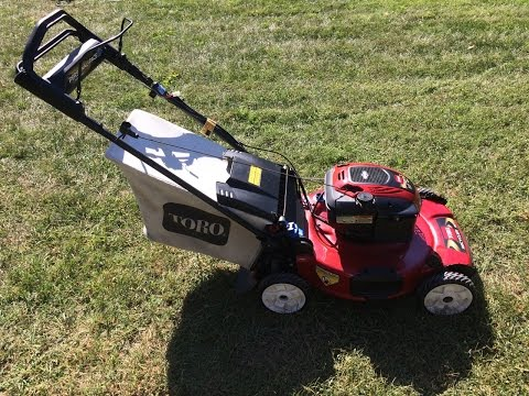 Toro Personal Pace Recycler Lawn Mower Model 20334 It S Electric Final Look Start