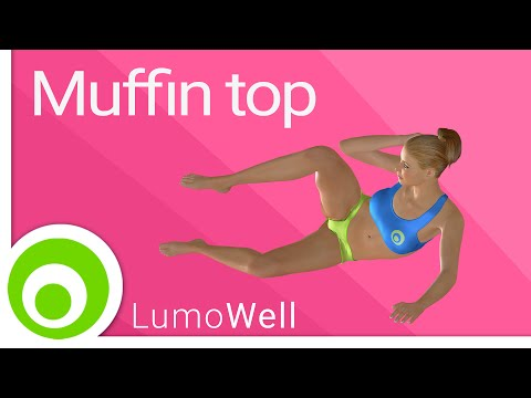 Muffin top workout: exercises to get rid of love handles