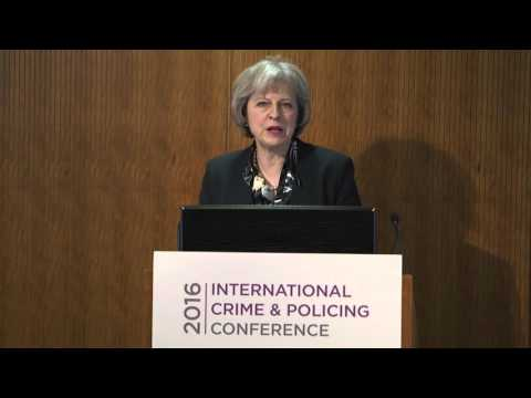 Home Secretary launches the Government's modern crime prevention strategy