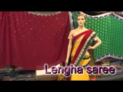 Buy Designer Sarees Online | Women like to wear Lengha saree