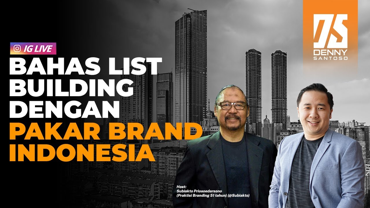 Bahas List Building dengan Pakar Brand Indonesia