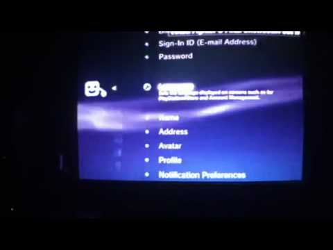 How to change your psn password