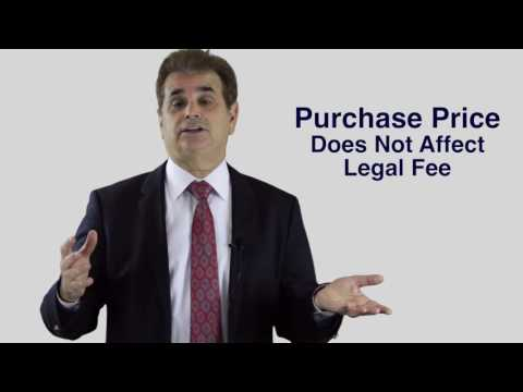 Fixed Flat Rate Legal Fees - Purchase Price Does Not Affect Fee!