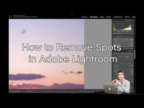 How to Remove Spots in Adobe Lightroom