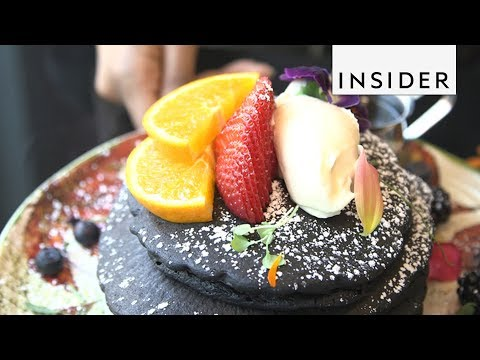 Goth Pancakes Could Help You Detox