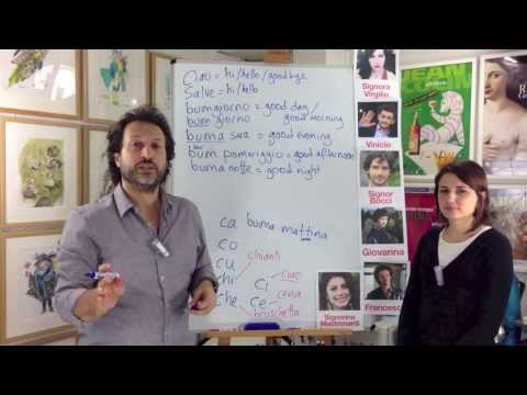 Learn Italian - Italia 500 Italian Beginner 1 course  Lesson 1 (Preview)
