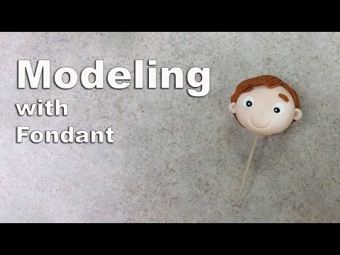 Creating a Boy's Face with Modeling Tools & Fondant