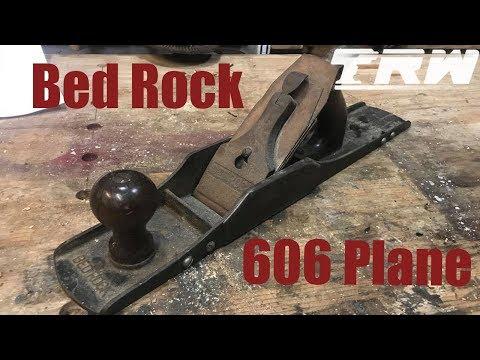 [Restoration] Rare Bedrock 606 Hand Plane