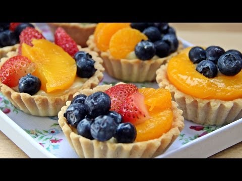 Fruit Tart - Recipe by ZaTaYaYummy