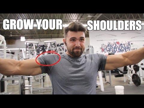 Unique Way To Grow Massive Muscular Shoulders