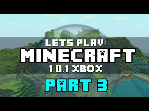 Lets Play Minecraft Xbox 360: 1.0.1 Update | Part 3 - Slimeballs and Diamonds! (Kinda)