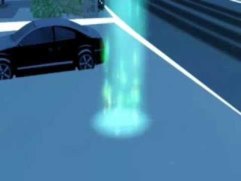 Alien Abduction on The Sims 3