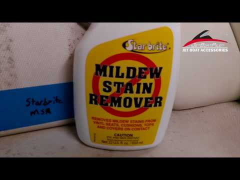 Mildew Remover Comparison for Boat Upholstery