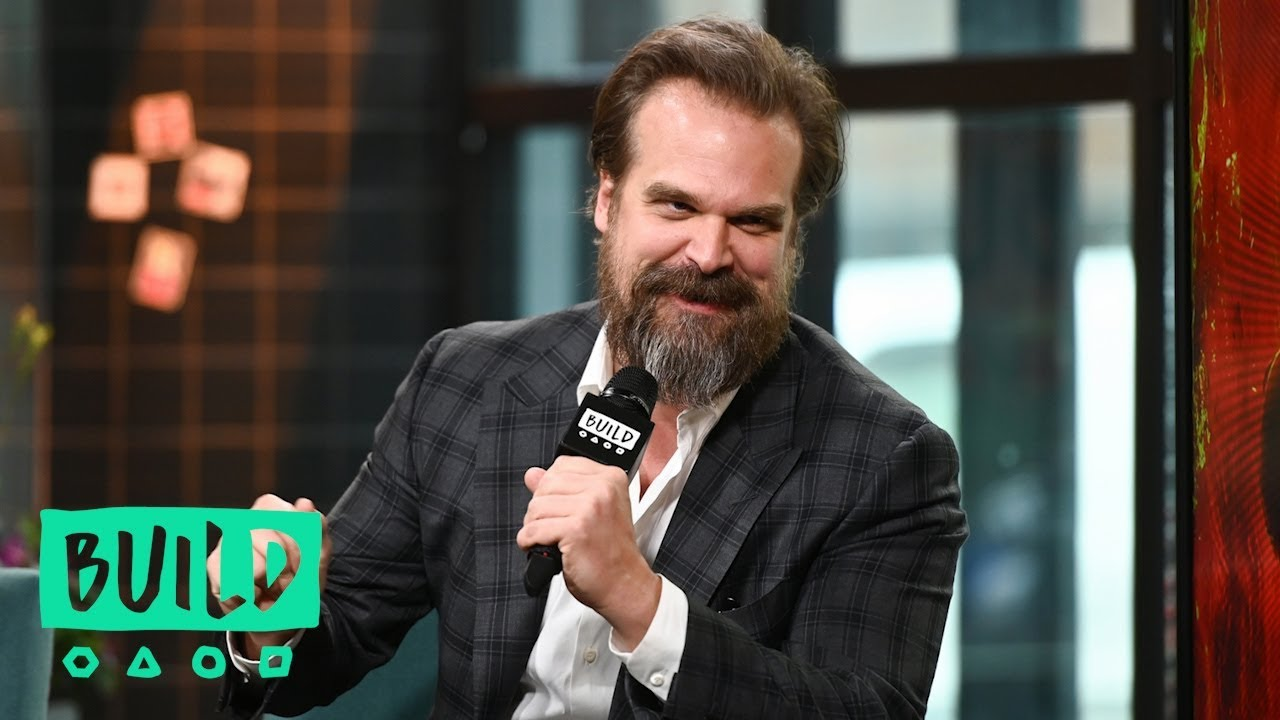 "David Harbour Has Watched The ""Stranger Things"" Kids Grow Up On And Off-Screen As If They Were His O"