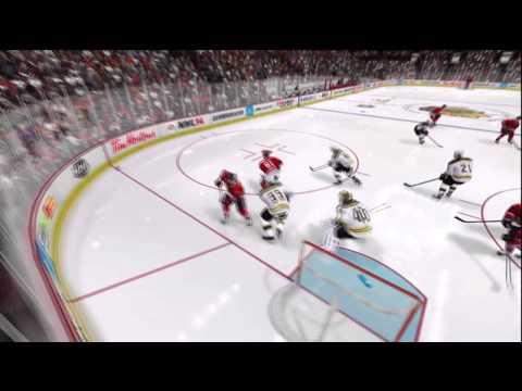 *NEW* NHL 14 Demo Goalie Fighting Gameplay!