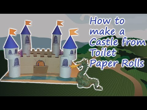 How to make a Cardboard Castle - STEM Activity for Kids